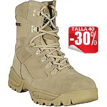 Botas BARBARIC FORCE TAN THUNDER 8""