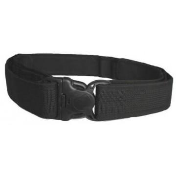 Cinturón ceñidor velcro con hebilla seguridad Negro