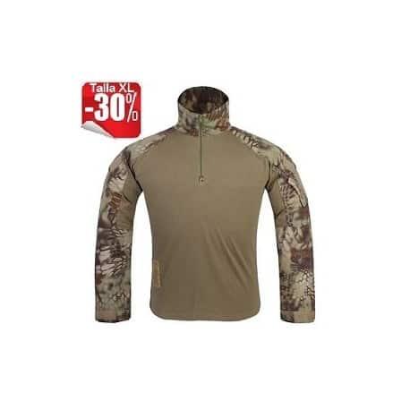 Camiseta Combat GEN3 en camuflaje Kryptek Mandrake de Emerson