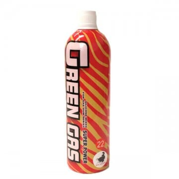 BOTELLA GAS GREEN GAS 2000ML 22K AMARILLO/ROJO