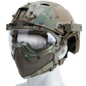 Casco para Airsoft FAST MASCARA Multicam