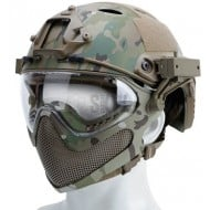 Casco para Airsoft FAST MASCARA Multicam