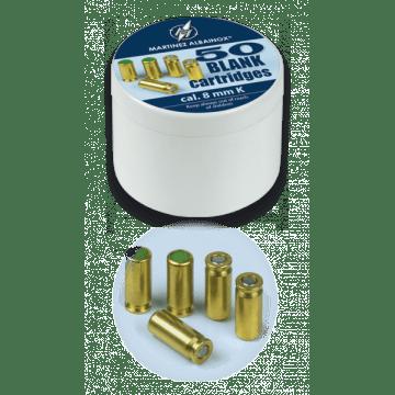 Caja de 50 detonantes Albainox del calibre 8 mm