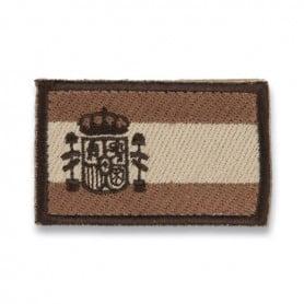 Parche Bordado de Bandera de España en Arido (Pequeño)