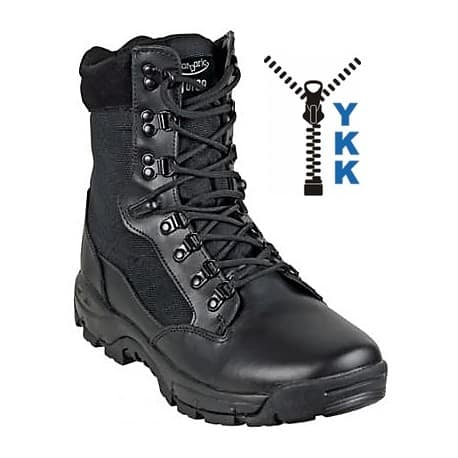 Boots TASER model SPARK zip Black