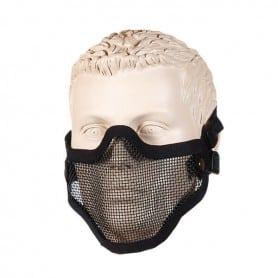 Máscara para airsoft de color negro, modelo Strike