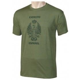 Camiseta Ejército de tierra Español Verde
