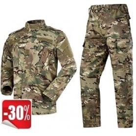 Uniforme militar en camuflaje Multicam