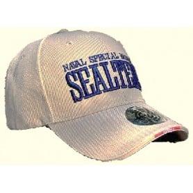 Gorra bordada Seal Team en Tan