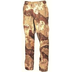 Pantalones militares M65, estilo camo Desert. Orange.