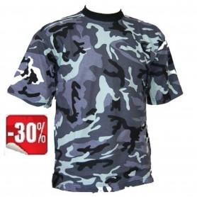 Camiseta de camuflaje Multicam Navy