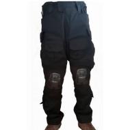 Pantalones Tácticos con Rodillera - Negro