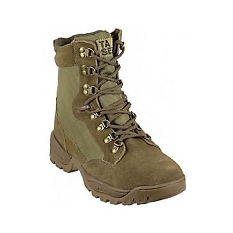 "Botas BARBARIC FORCE SPARK 8"" - Coyote Army - Sin cremallera"