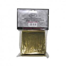 Manta térmica dorada (210x160 cm)