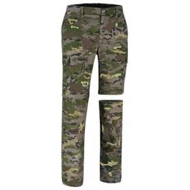 Pantalon militar Boscoso Pixelado desmontable