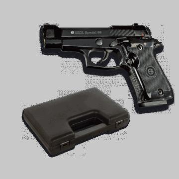 Pistola de detonación, réplica de Special 99, de la marca Ekol. Black