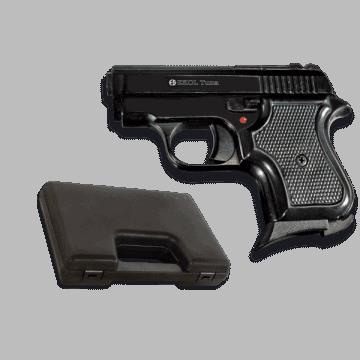 Pistola de detonación, réplica de Tuna, de la marca Ekol. Black