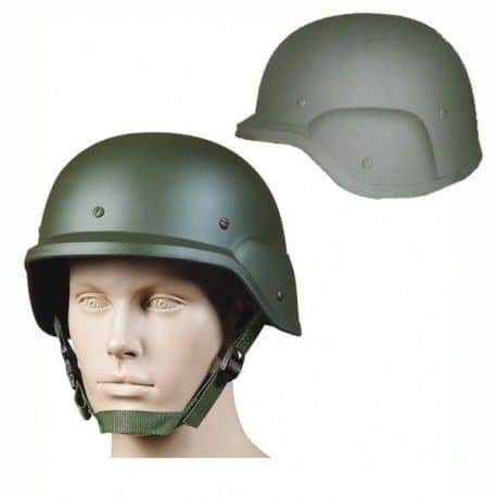 Casco militar M88 ST05 US ARMY para airsoft. Verde y Negro