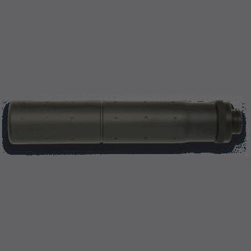 Silenciador fabricado en aluminio, para armas de la serie-M. Marca Golden eagle. Color negro