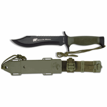 Cuchillo Albainox de supervivencia, modelo BLACKBEAR