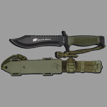 Albainox survival knife, model BLACKBEAR