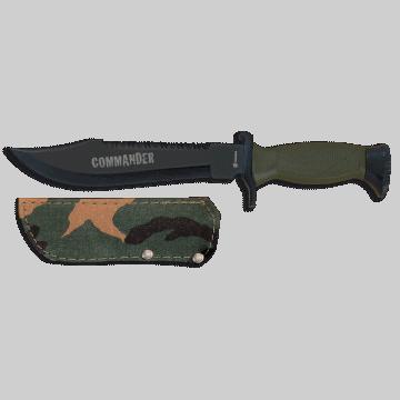 Cuchillo Albainox de supervivencia, modelo COMMANDER
