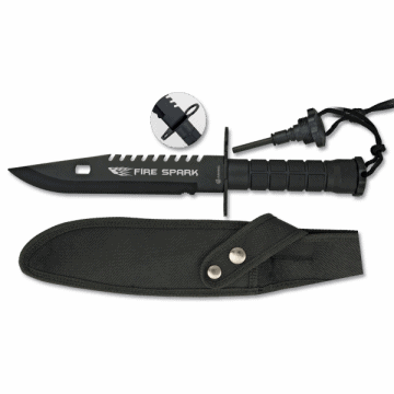 Albainox survival knife, model FIRE SPARK