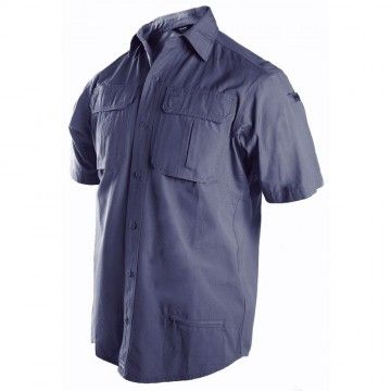 CAMISA TACTICAL NAVY. BLACKHAWK