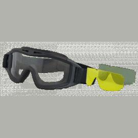 Gafas de Airsoft ALBAINOX. Incluye 3Lentes intercambiables.