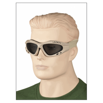 Grille Sunglasses made of PVC. SO