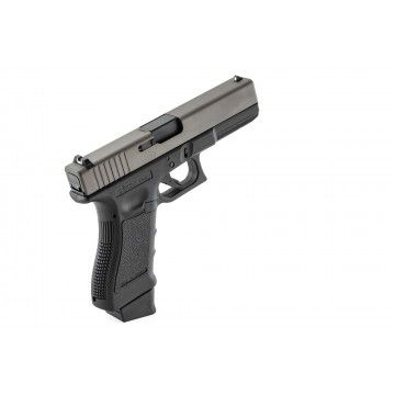Marque de pistolet Co2 Glock Combat Supergrade S 17 Black Stark bras