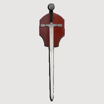 Espada modelo Excalibur marca TOLE10. 89 cm e incluye Panoplia.