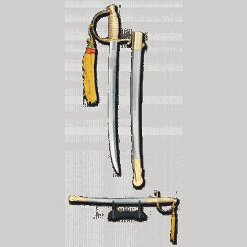 Sable modelo Cadete Marines marca TOLE10. 50,7 cm