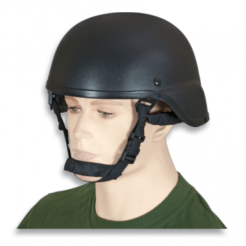 Casco Táctico para Airsoft color negro