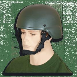 Casco Táctico para Airsoft color verde