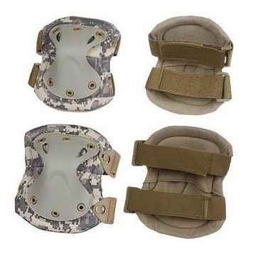 Set of knee pads and elbow pads-ACU