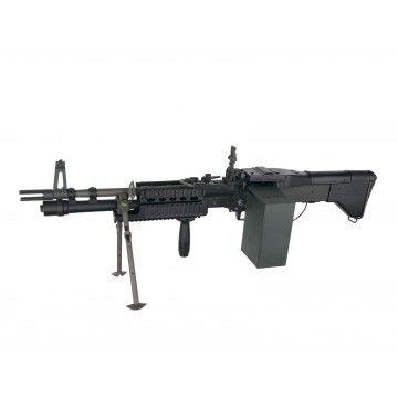Fusil eléctrico de apoyo AEG MK43, de la marca A&K
