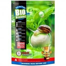 2000 bag white Bio-BBs of 0.33 g