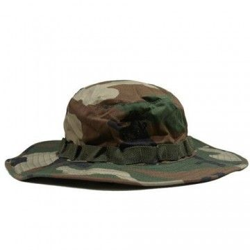Military hat of the EMERSON brand. Woodland