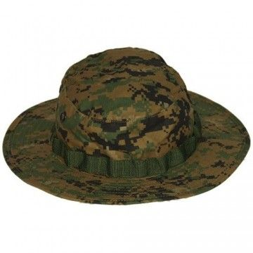 Military hat of the EMERSON brand. Digital woodland