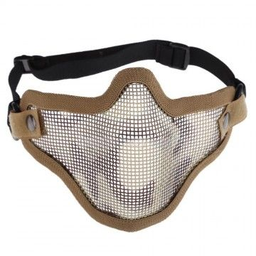 Mask for airsoft color khaki, model Strike