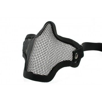 Black color, model Strike airsoft mask