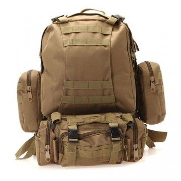 Medium-capacity Delta Tactics brand modular backpack. SO
