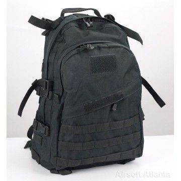 "Backpack ""3 days"" of the brand Delta Tactics tactics. Black"