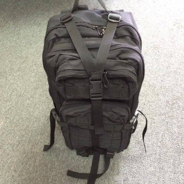 Backpack combat tactics. Black