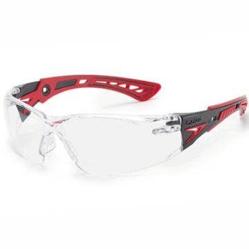 Gafas de protección, de la marca Bollé , modelo Rush. Transparentes