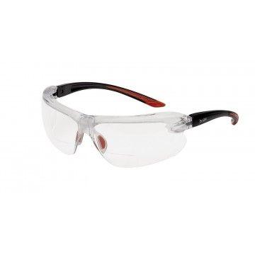 Gafas de protección, de la marca Bollé, modelo IRI-S. Transparentes
