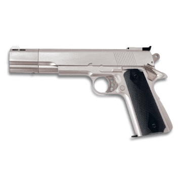 Gun. GAS. White. 6 mm. HFC