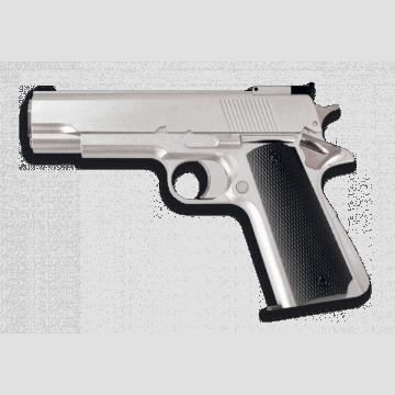 Pistola. GAS. Blanca. 6 mm. HFC