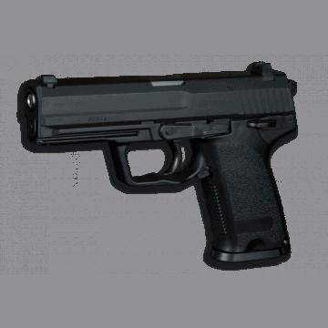 Pistola. GAS. STTI